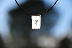 Corazón plata 003