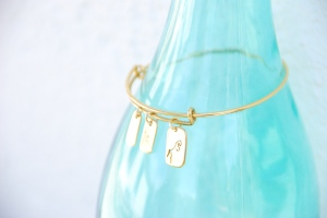 Pulsera charms oro